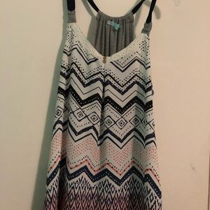 Maurices flowy tank top